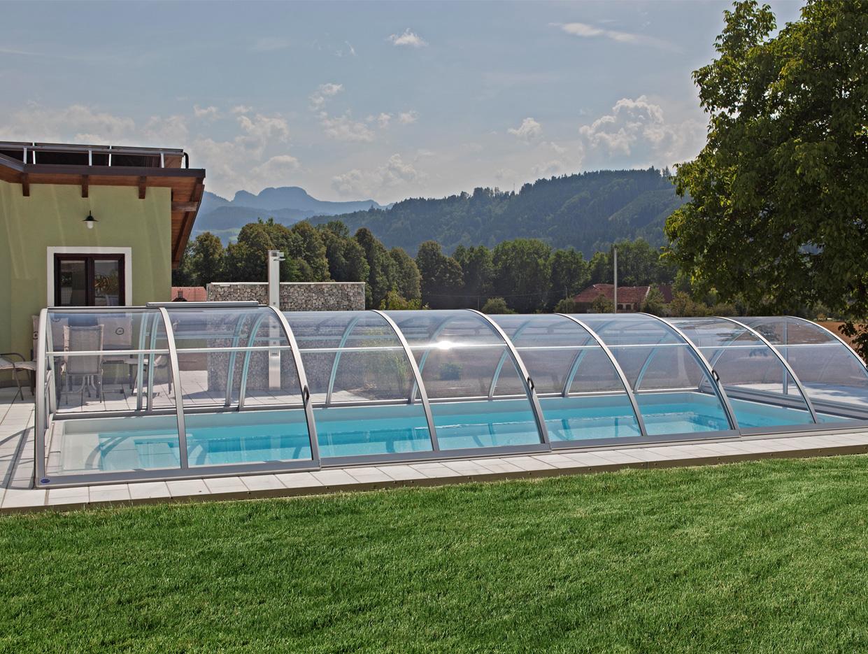 Aquacomet abris de piscines for Piscine hors sol sur toit